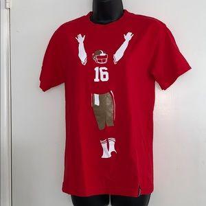 Joe Montana San Francisco 49ers Graphic T-Shirt Sm